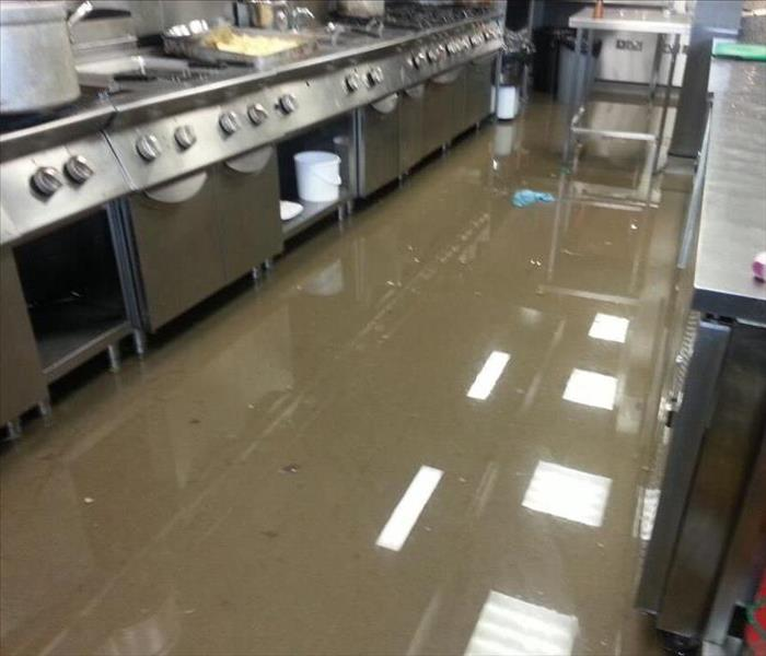 Rains From Storm Cause Restaurant in West Palm Beach Flooding Before