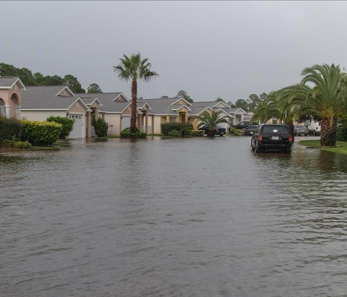 Neighborhood flooded after West Palm Beach storm